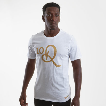 Nike Logo Graphic R10 S/S Football T-Shirt