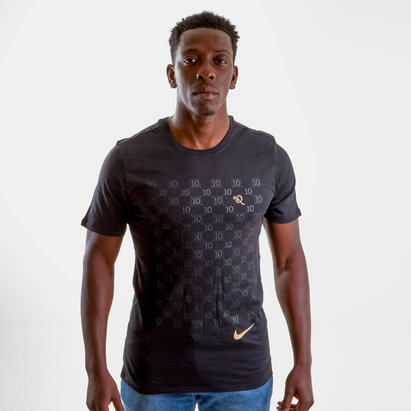 Nike Repeat R10 S/S Football T-Shirt