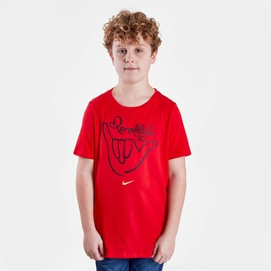 Nike Logo R10 S/S Football T-Shirt