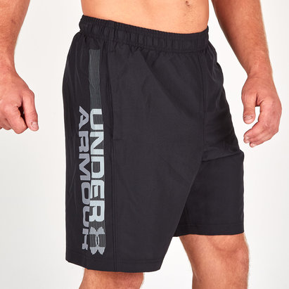 Under Armour Woven Graphic Wordmark Training Shorts