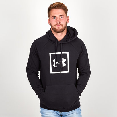 Under Armour Rival Fleece Graphic Logo Hooded Sweat