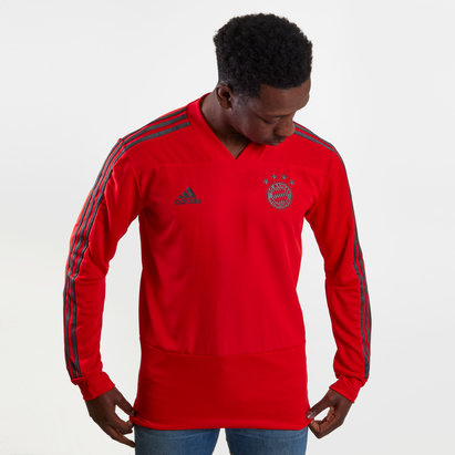 adidas Bayern Munich 18/19 L/S Players Football Training Shirt