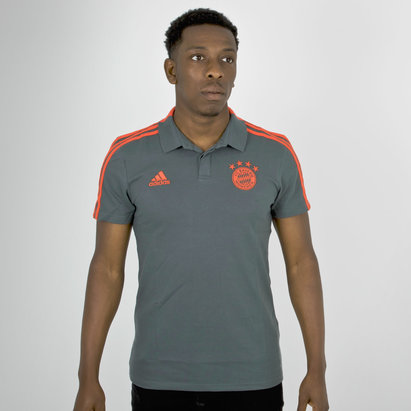 adidas Bayern Munich 18/19 Players Football Polo Shirt