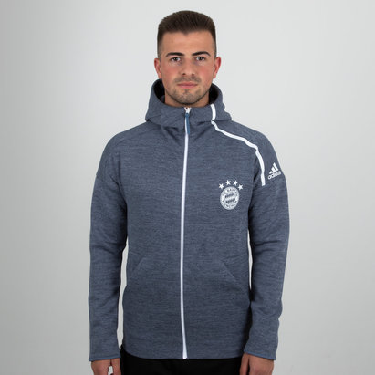 adidas Bayern Munich 18/19 ZNE Hooded Football Sweat