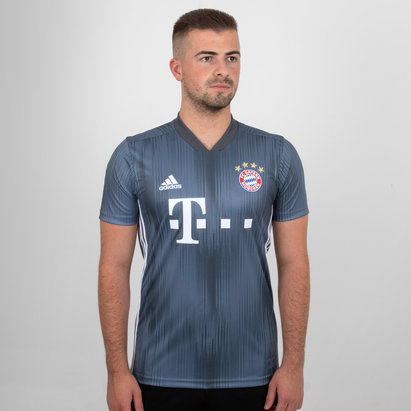 adidas Bayern Munich 18/19 3rd S/S Football Shirt