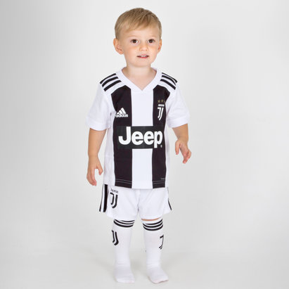 adidas Juventus 18/19 Home Mini Kids Football Replica Kit