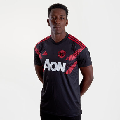 adidas Manchester United 18/19 Pre-Match Football Training Shirt