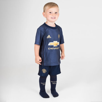 adidas Manchester United 18/19 3rd Mini Kids Replica Football Kit