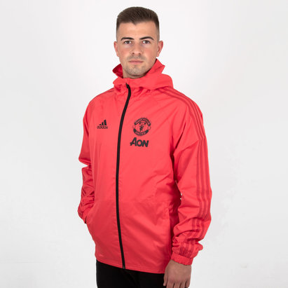 adidas Manchester United 18/19 Football Rain Jacket