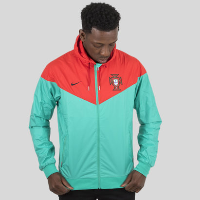 Nike Portugal 2018 Windrunner Football Jacket