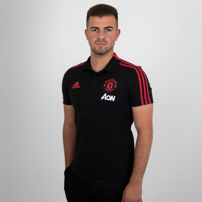 adidas Manchester United 18/19 Football Polo Shirt
