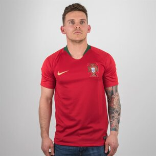 Nike Portugal 2018 Home S/S Stadium Football Shirt