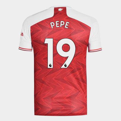 adidas Arsenal Nicolas Pepe Home Shirt 20/21 Mens