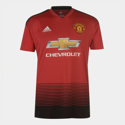 adidas Manchester United 18/19 Home S/S Replica Football Shirt