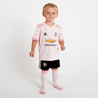 adidas Manchester United 18/19 Away Mini Kids Replica Football Kit