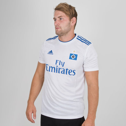 adidas Hamburg SV 18/19 Home S/S Replica Football Shirt