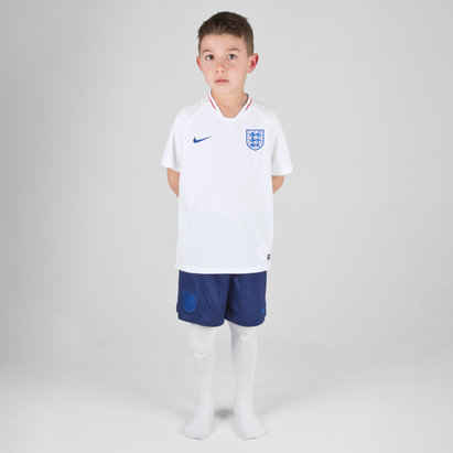 Nike England 2018 Home Mini Kids Replica Football Kit