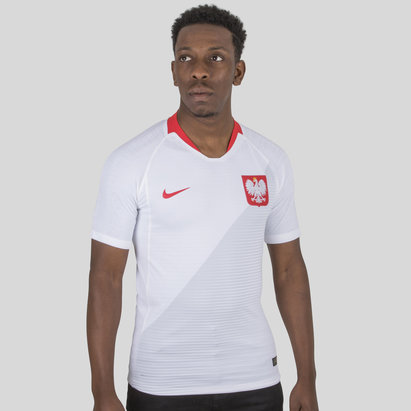 Nike Poland 2018 Home Authentic Match S/S Football Shirt
