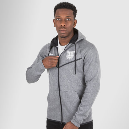 Nike England 2018 Tech Fleece Windrunner Football Jacket