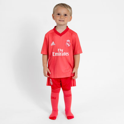 adidas Real Madrid 18/19 3rd Mini Kids Replica Football Shirt