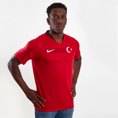 Nike Turkey 2018 Home S/S Stadium Football Shirt