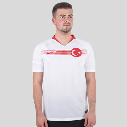 Nike Turkey 2018 Away S/S Stadium Football Shirt