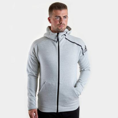 adidas ZNE Full Zip Hooded Training Sweat