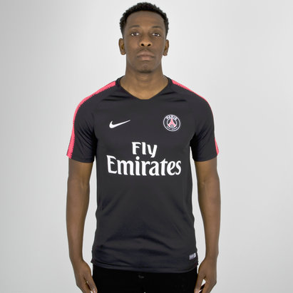Nike Paris Saint-Germain 18/19 Squad Football Training T-Shirt