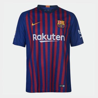 Nike FC Barcelona 18/19 Home S/S Stadium Football Shirt