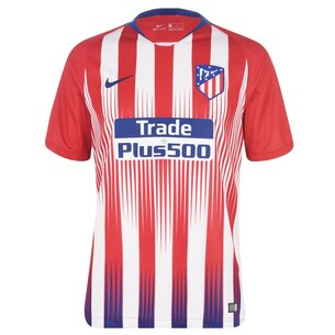 Nike Atletico Madrid 18/19 Home S/S Stadium Football Shirt