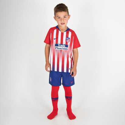Nike Atletico Madrid 18/19 Home Little Kids Home Football Kit