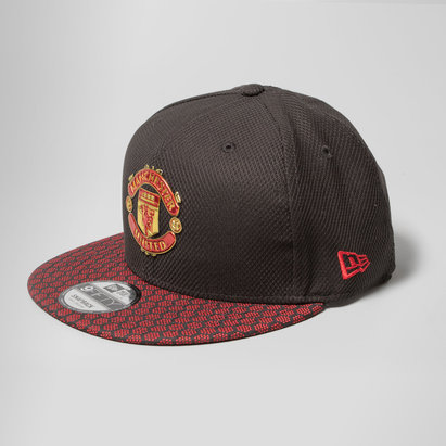 New Era Manchester United 9Fifty Hex Weave Vize Football Snapback Cap