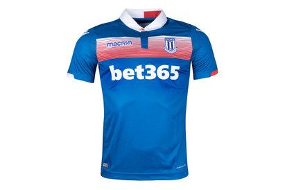 Macron Stoke City 17/18 Away S/S Football Shirt