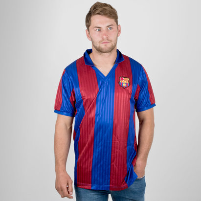 Score Draw Barcelona 1992 Retro Football Shirt