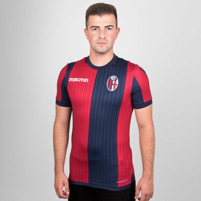 Macron Bologna 18/19 Home S/S Football Shirt