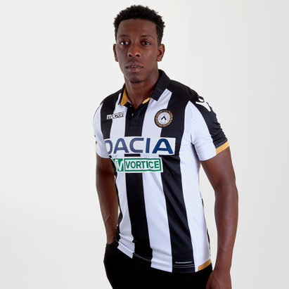 Macron Udinese 18/19 Home S/S Football Shirt