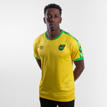 Umbro Jamaica 2018 Home S/S Replica Football Shirt