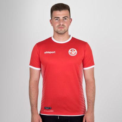 Uhlsport Tunisia 2018 Away S/S Football Shirt