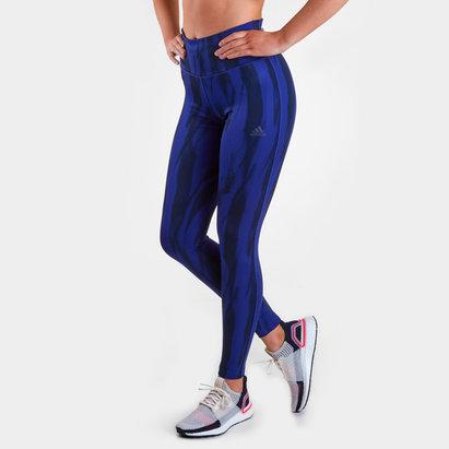 adidas D2M Ladies Climalite Printed Tights