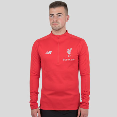 New Balance Liverpool FC 18/19 Training Hybrid Sweatshirt