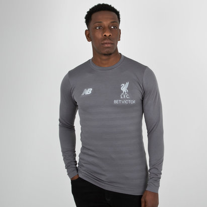 New Balance Liverpool FC 18/19 Elite L/S Seamless Training Shirt