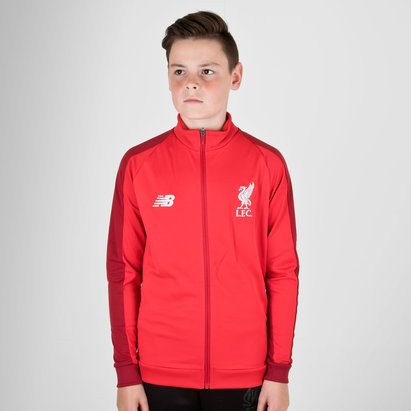 New Balance Liverpool FC 18/19 Kids Elite Training Presentation Jacket