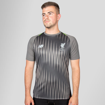 New Balance Liverpool FC 18/19 Elite Matchday Football Training Shirt - No Sponsor