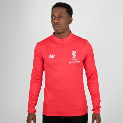 New Balance Liverpool FC 18/19 Elite Mid Layer Football Training Top
