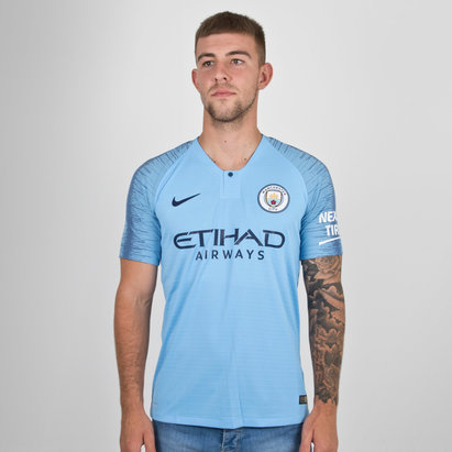 2e2c1108b31 Nike Manchester City 18 19 Home Players Authentic S S Football Shirt