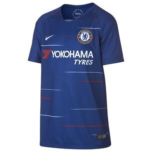 Nike Chelsea FC 18/19 Home Kids S/S Replica Football Shirt