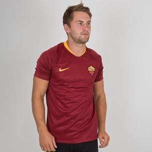 Nike AS Roma 18/19 Home S/S Replica Football Shirt