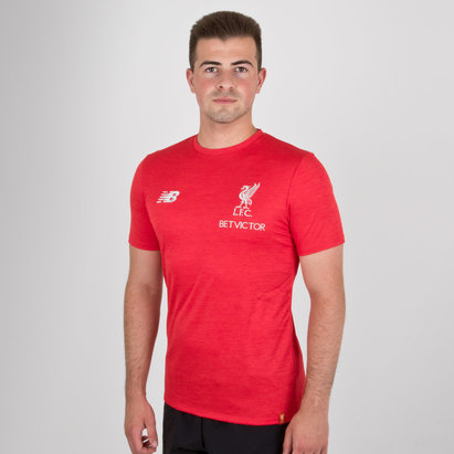 New Balance Liverpool FC 18/19 Elite Leisure S/S Football T-Shirt