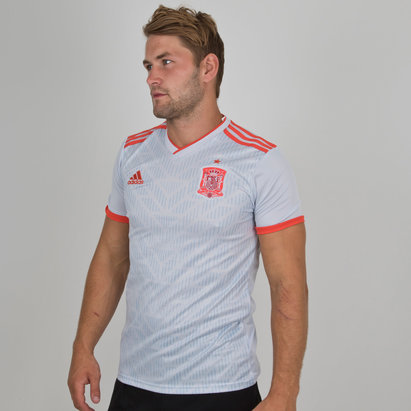 adidas Spain 2018 Away S/S Replica Football Shirt