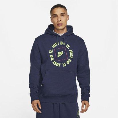 Nike Sportswear JDI Mens Pullover Fleece Hoodie